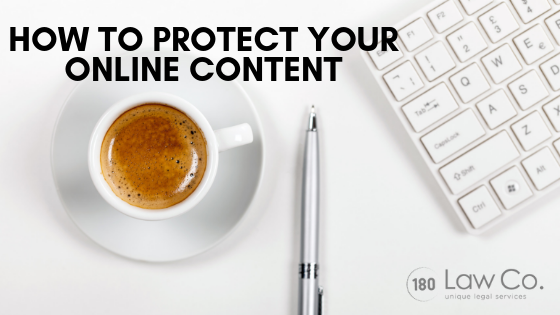 How to Protect Your Online Content