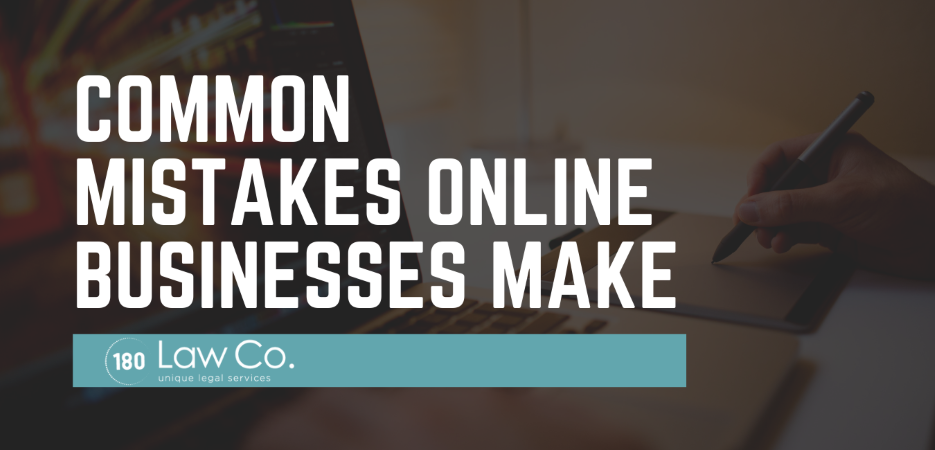 Common Mistakes That Online Businesses Make