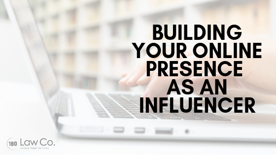 Building Your Online Presence as an Influencer