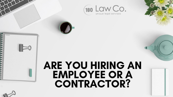 Are You Hiring an Employee or a Contractor?