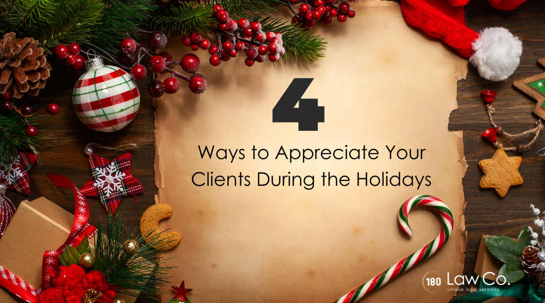 Four Ways to Appreciate Your Clients During the Holidays