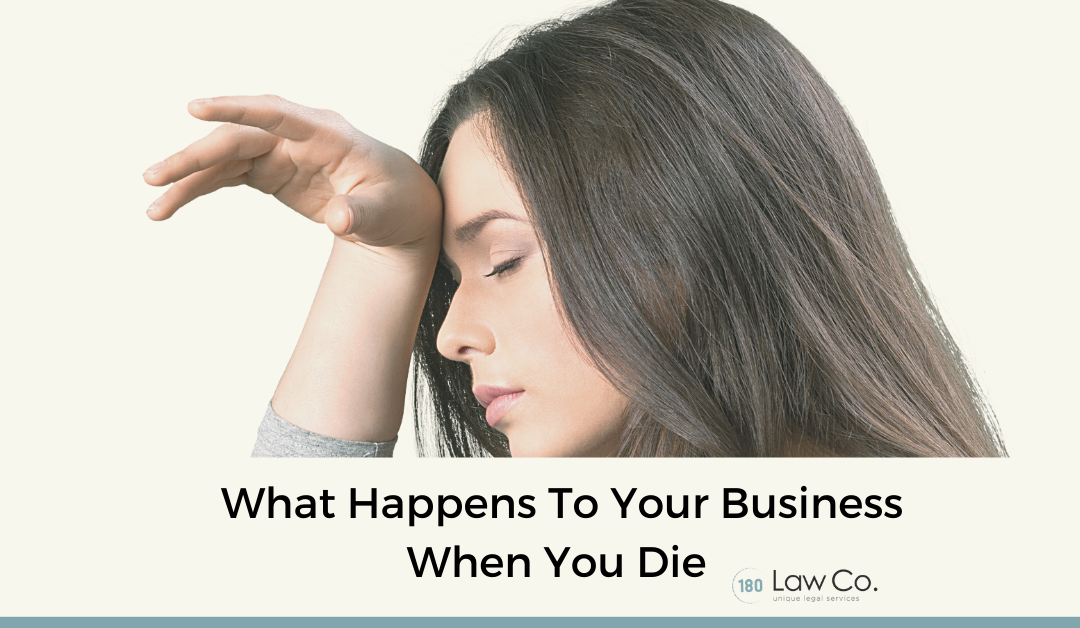 What Happens To Your Business When You Die