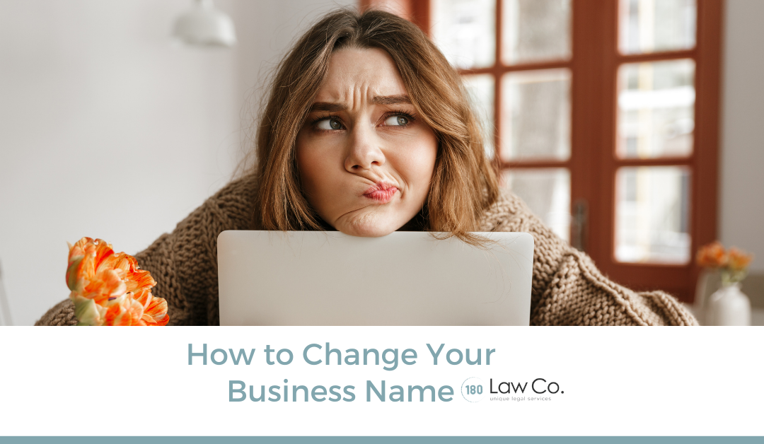 How to Change Your Business Name