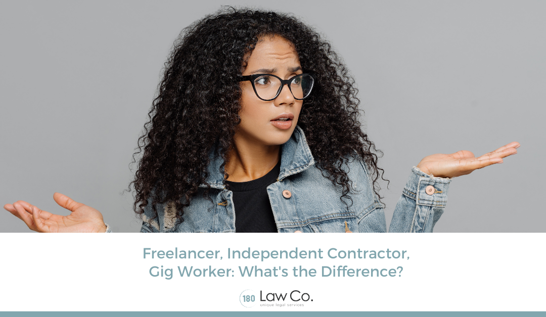 Freelancer, Independent Contractor, Gig Worker: What's the Difference?