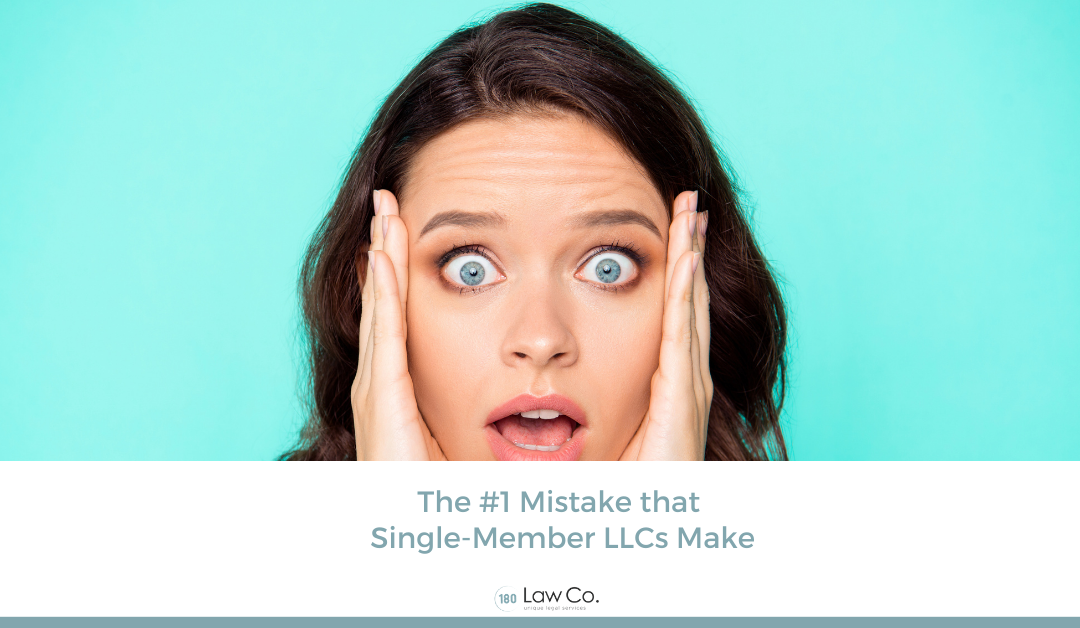 The #1 Mistake that Single-Member LLCs Make